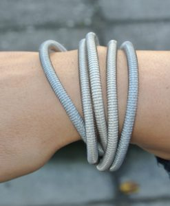 Industrial Jewellery – Orly Armband, silber