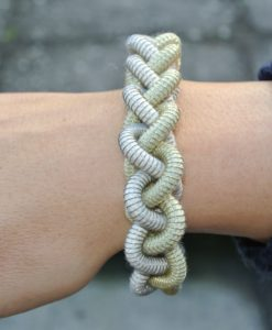 Industrial Jewellery – Anna Armband, gold