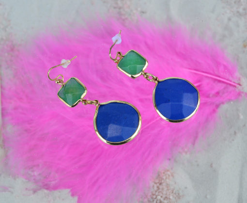 BLUE DROP EARRINGS by Adele Marie